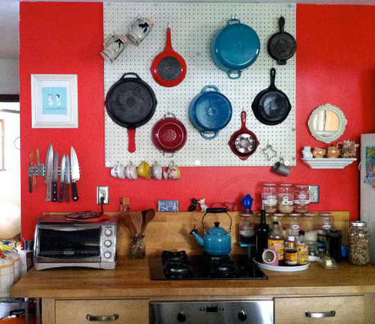Pegboard Kitchen Storage: 5 Tips For Hanging A Kitchen Pegboard