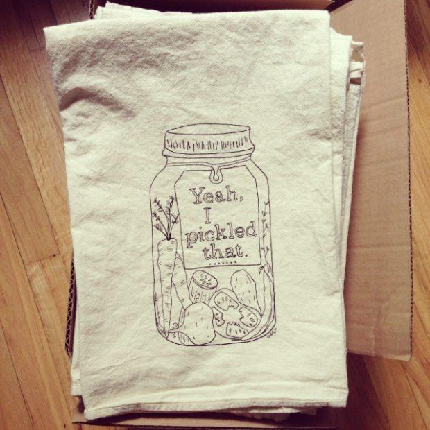 towel-pickled